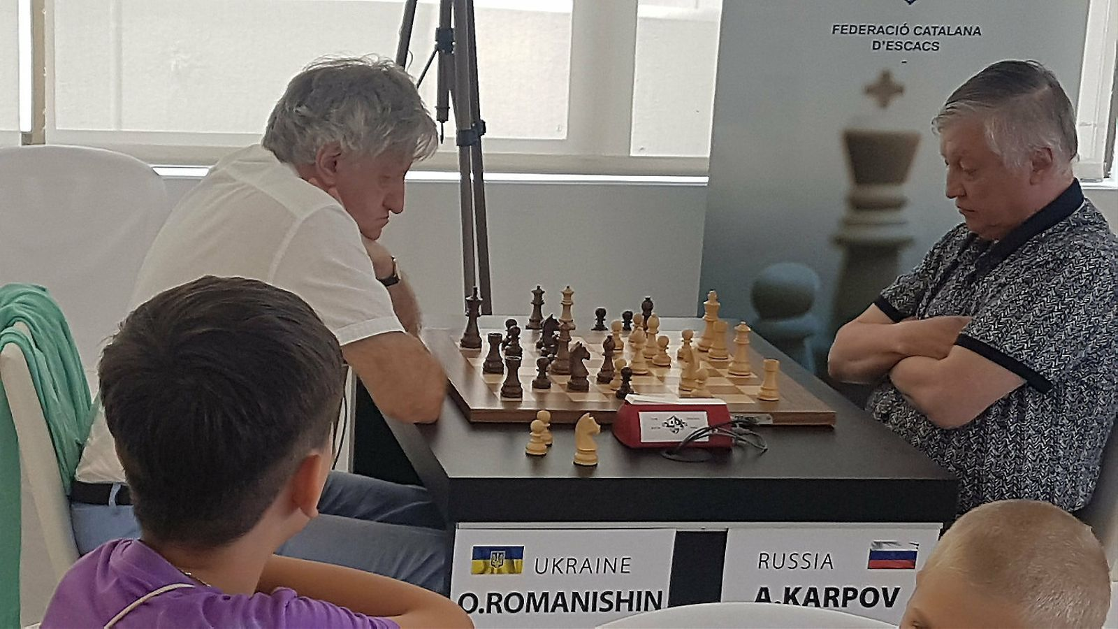 Platja d'Aro reuneix figures mundials dels escacs