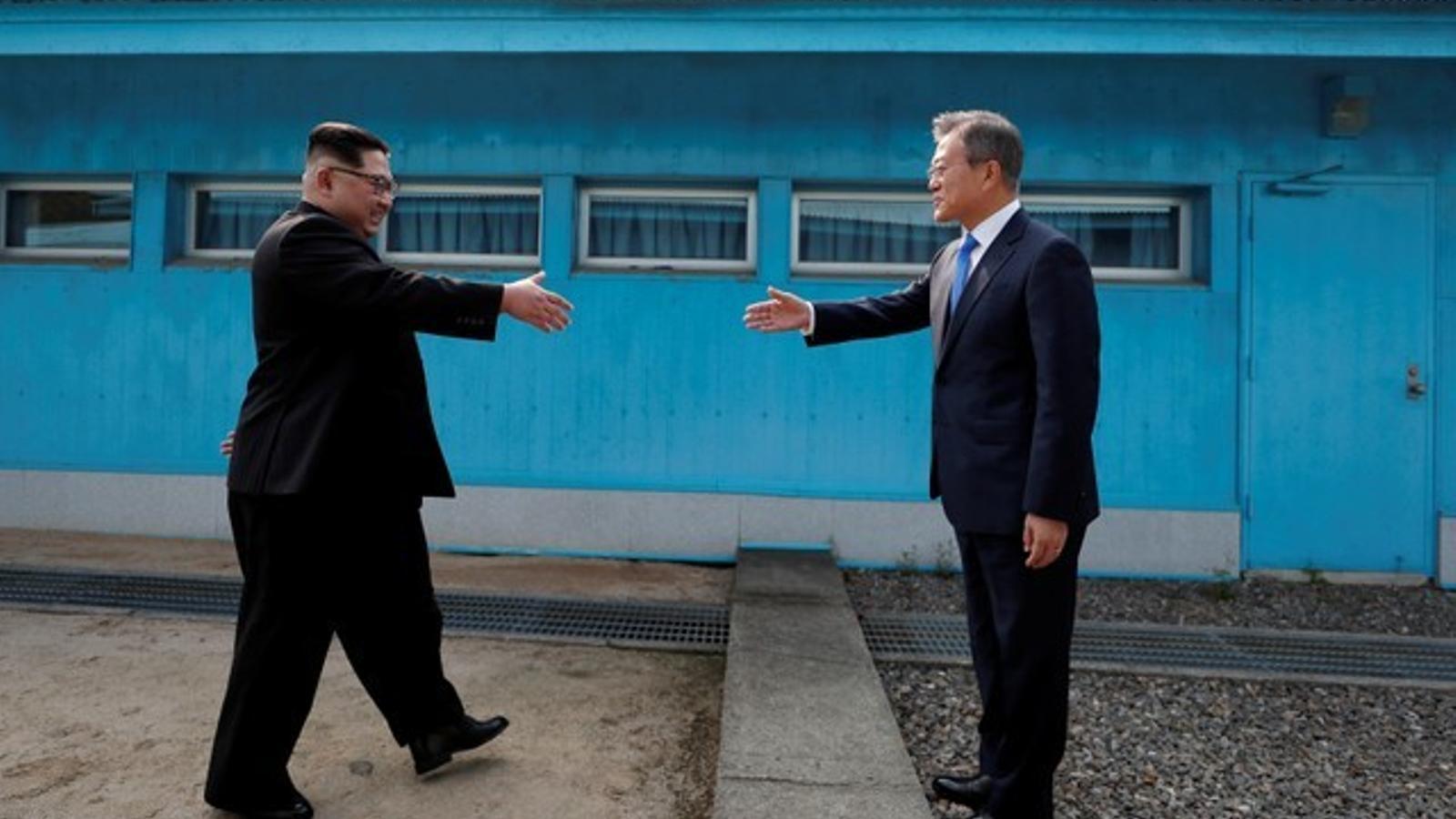 La històrica reunió entre Corea del Nord i Corea del Sud