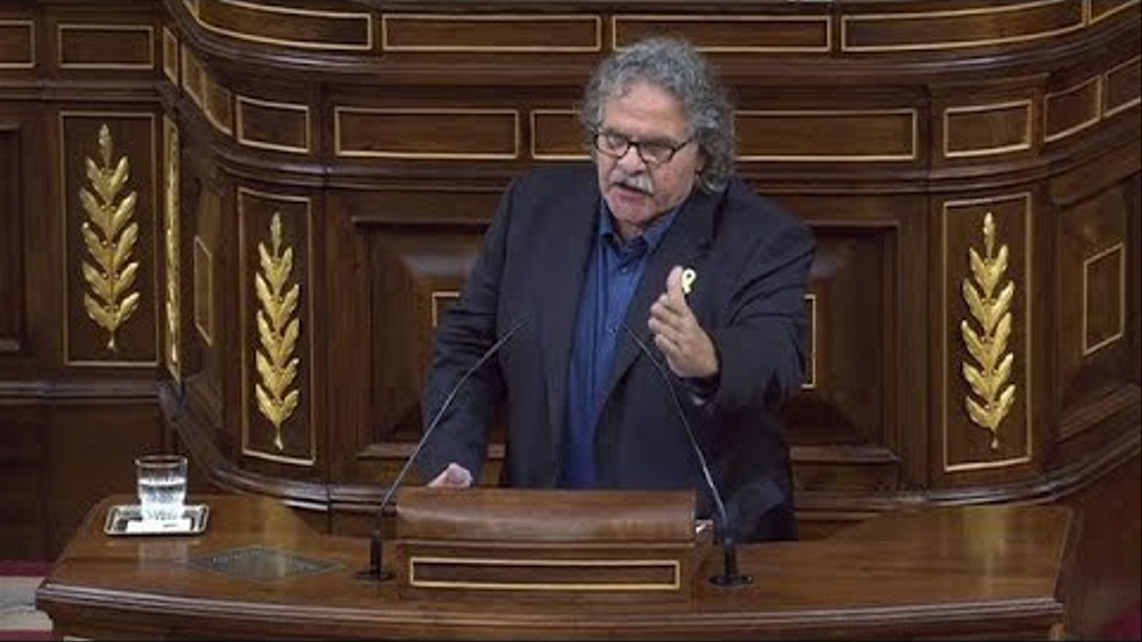 """Tardà respon a Rivera que és un """"feixista"""" després que l'acusés de """"colpista"""""""