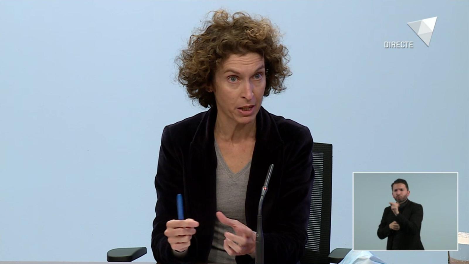 La ministra d'Exteriors, Maria Ubach / RTVA