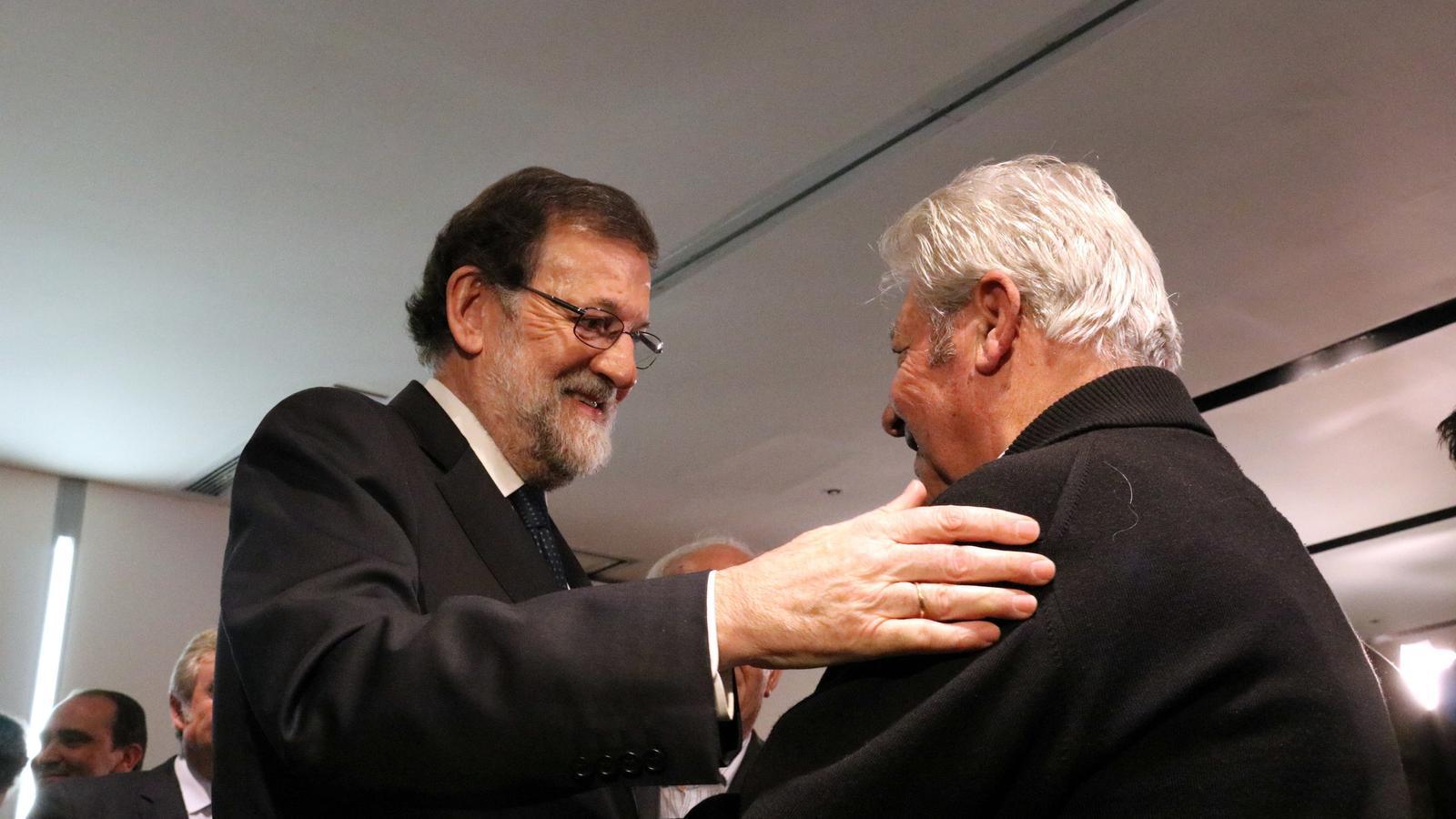 """Rajoy i Albiol demanen el vot dels """"catalans d'adopció"""" reivindicant la unitat d'Espanya"""
