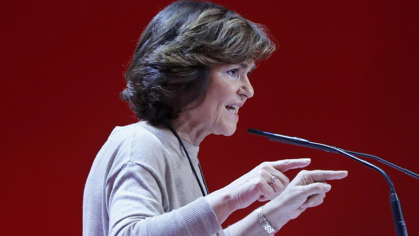 """Calvo reivindica el """"diàleg"""" davant les crítiques dels 'barons' del PSOE: """"En democràcia, s'ha de parlar"""""""