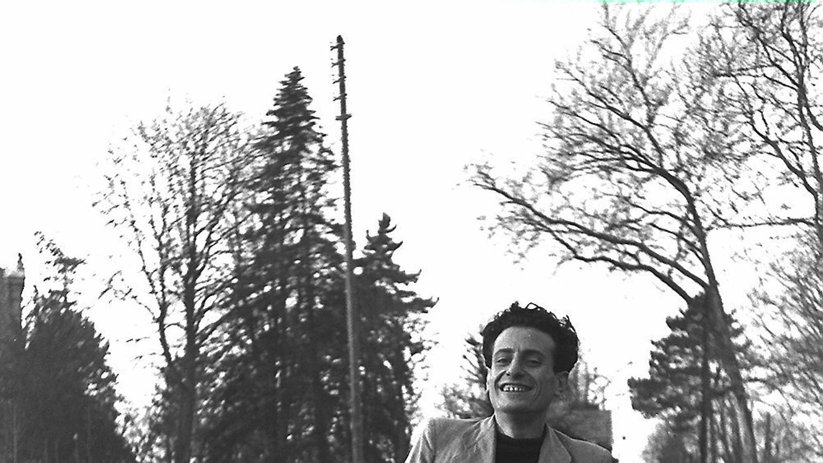 Joaquín López Raimundo retratat cap al 1945 pel seu amic Francesc Boix, el fotògraf de Mauthausen.