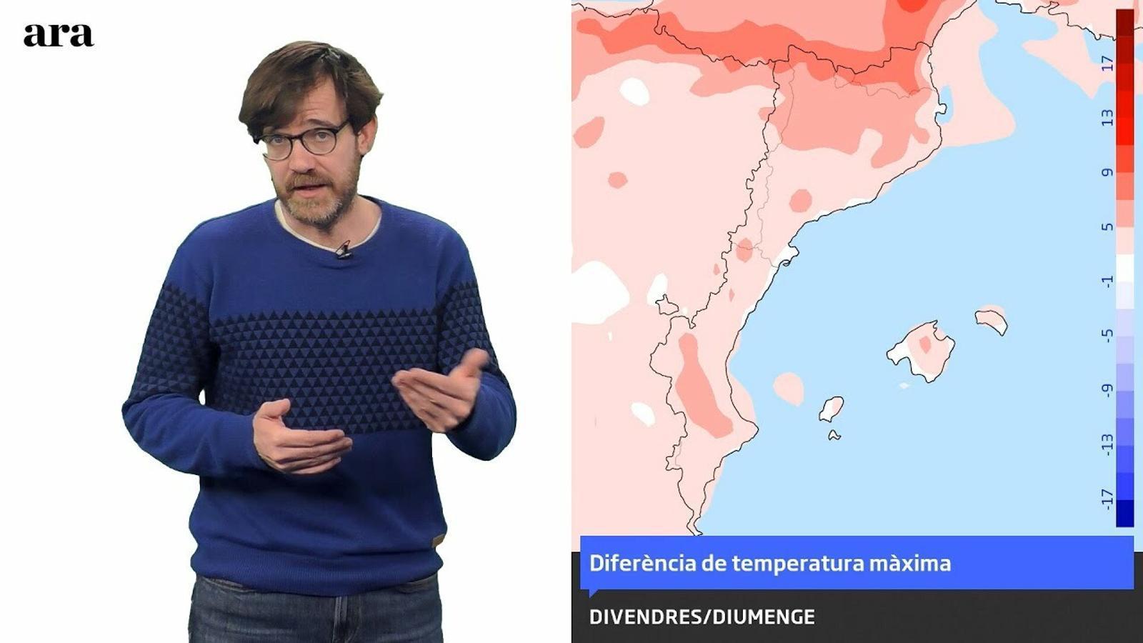 La méteo: l'ambient de primavera torna, però no s'instal·larà
