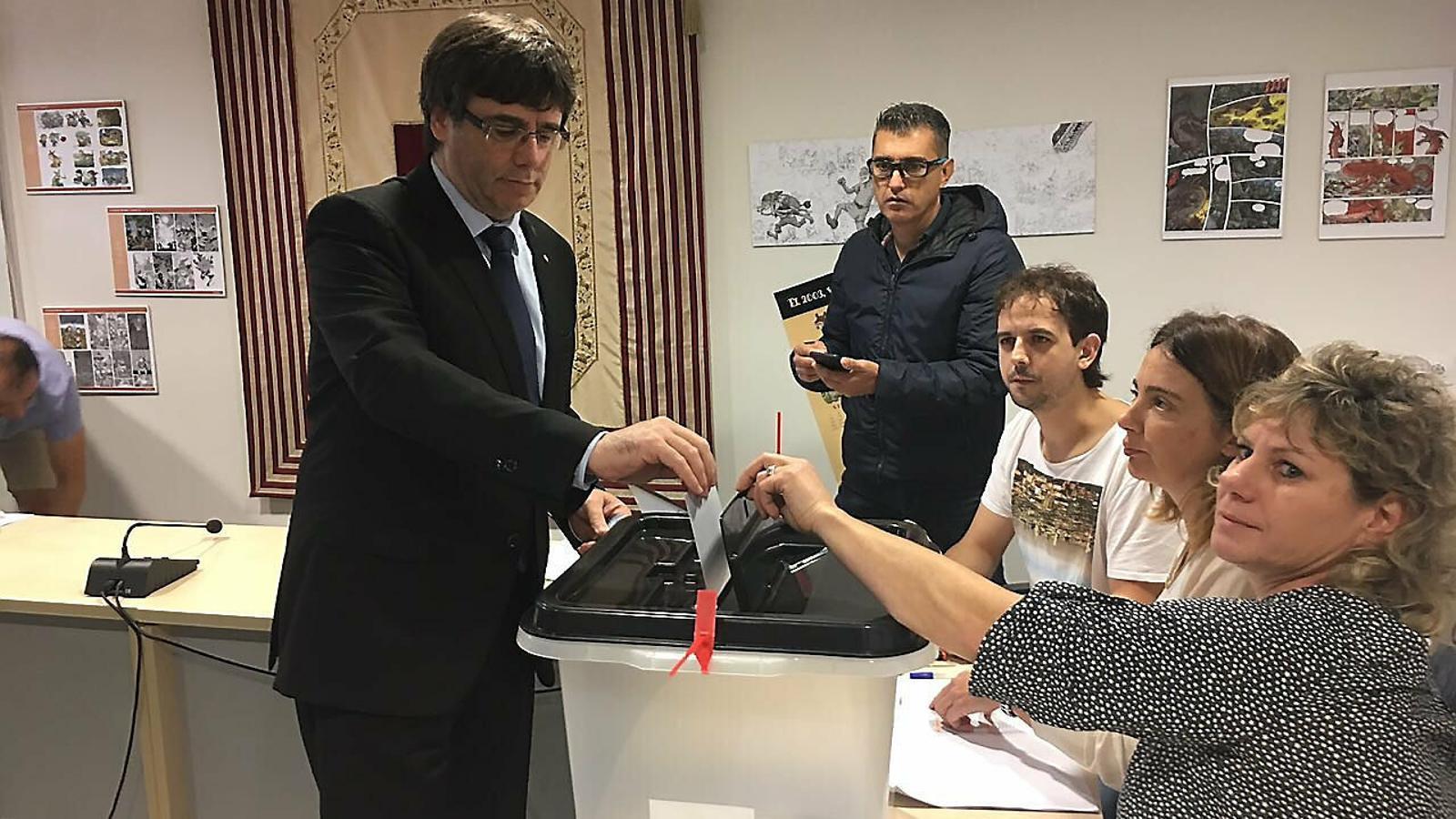 L'horitzó de Puigdemont: 1 d'octubre del 2020 Eleccions o referèndum