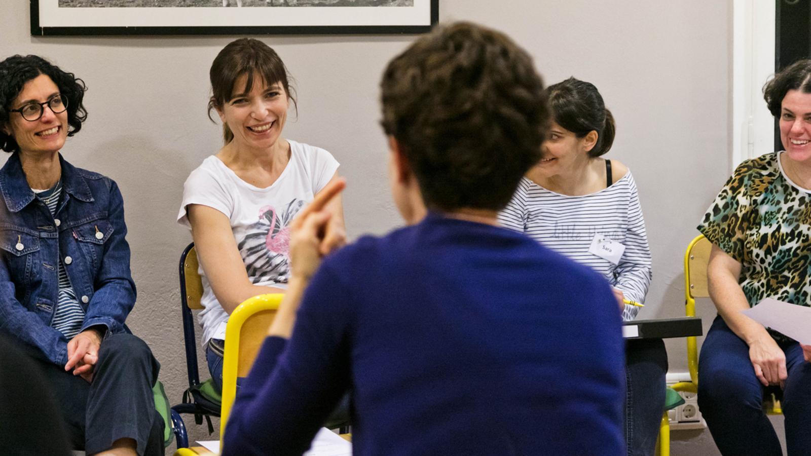 Xerrades organitzades per a mares i pares, en una imatge d'arxiu. / COMÚ D'ORDINO