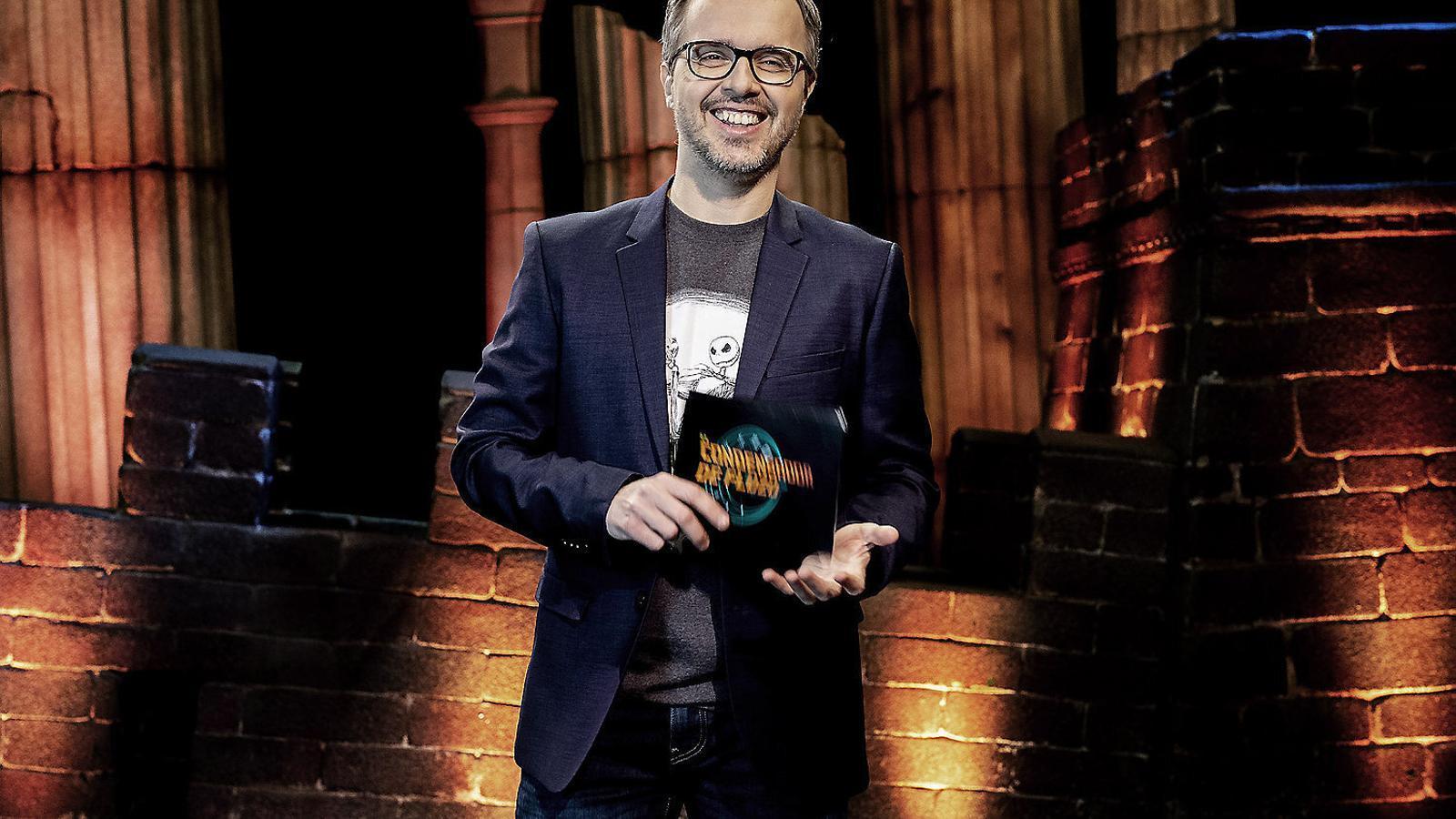 L'escriptor Juan Gómez-Jurado, presentador del nou espai de La 2.