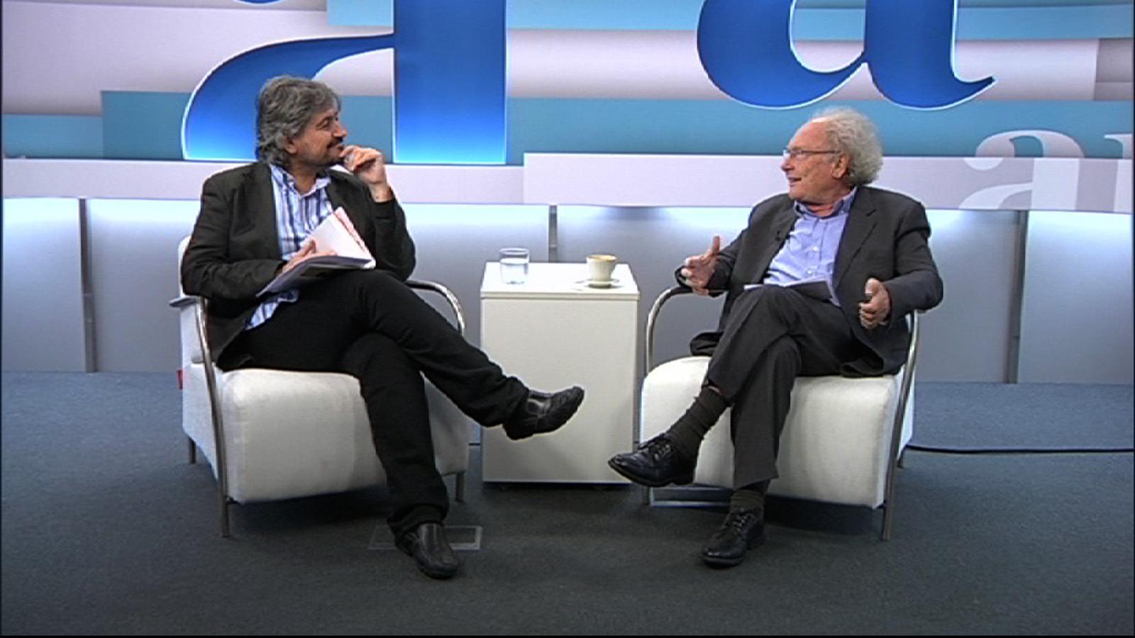 Eduard Punset: El que compta no és el pensament racional, sinó la intuïció
