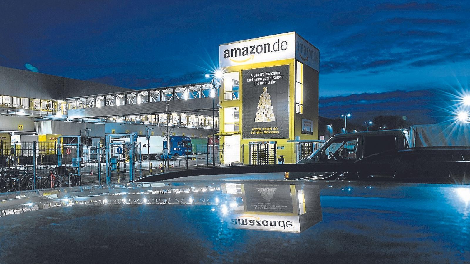 Un magatzem d'Amazon, una de les empreses que en sortiran encara més enfortides