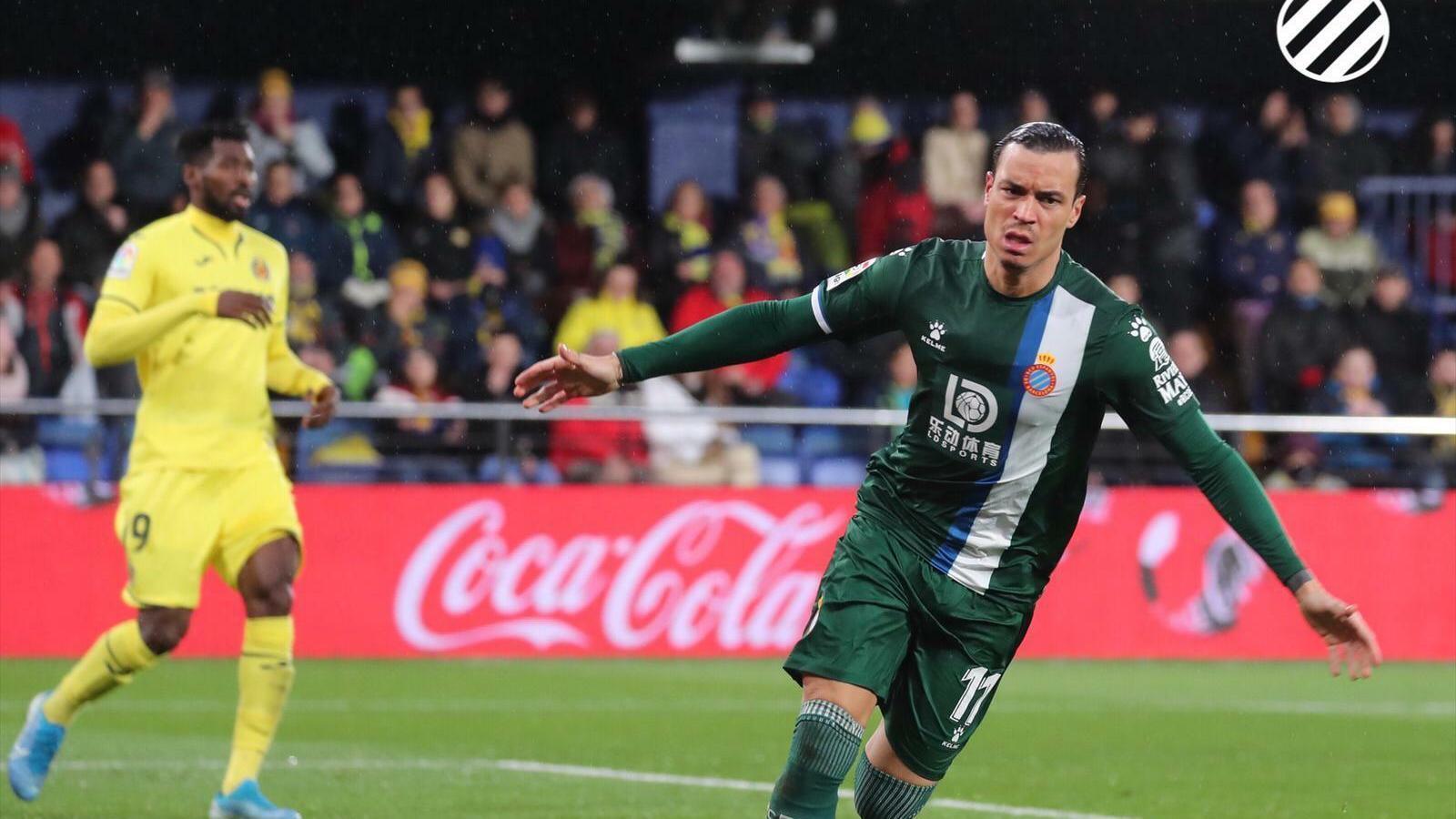 Raúl de Tomás va estrenar-se amb l'Espanyol a la Lliga amb gol a Vila-real