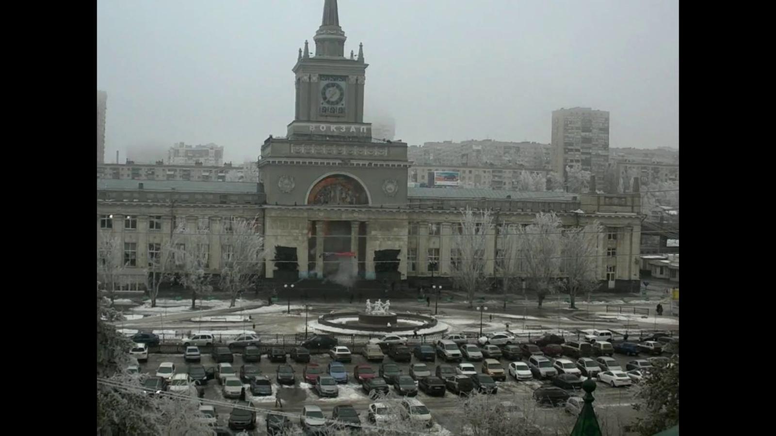 Atemptat suïcida a l'estació de tren de Volgograd