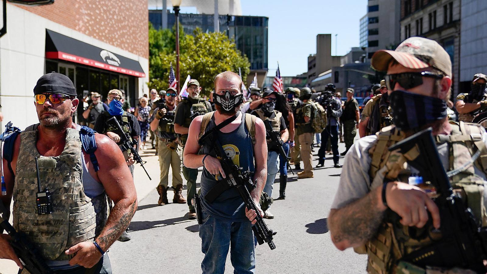 L'espectre de la violència armada plana sobre les eleccions als EUA