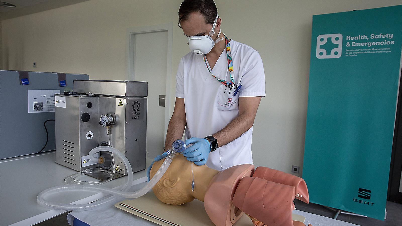 Què se n'ha fet dels respiradors que van sorgir durant la pandèmia?