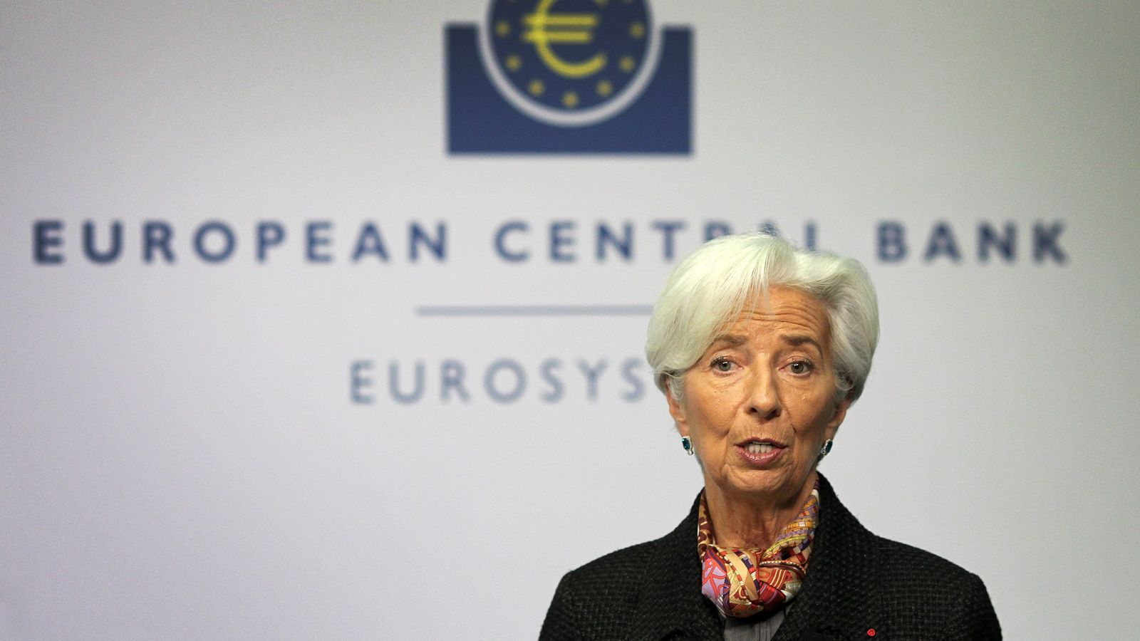 La presidenta del BCE, Christine Lagarde, en una imatge d'arxiu.
