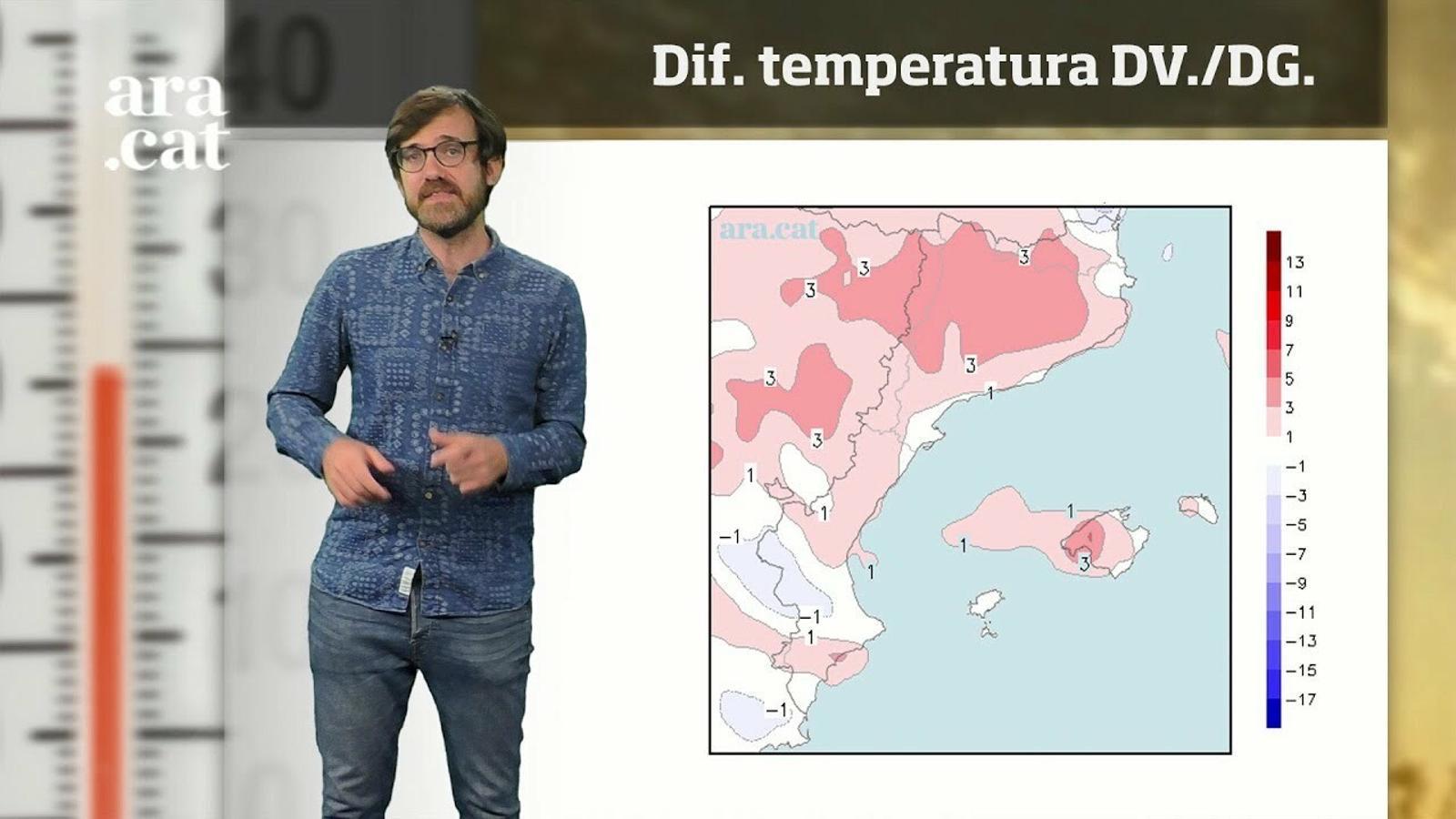 Méteo especial: una altra calorada la setmana que ve