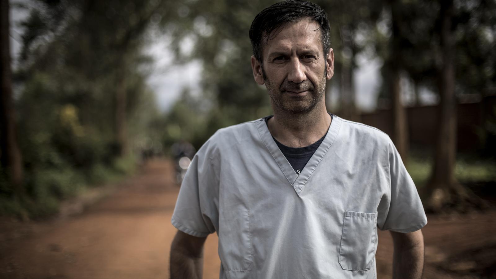 Luis Encinas, de Metges Sense Fronteres, en una imatge d'arxiu.