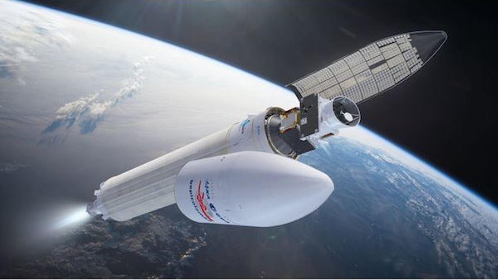 Recreaciód e la nau BepiColombo de l'Agència Espacial Europea (ESA), per a la missió a Mercuri.