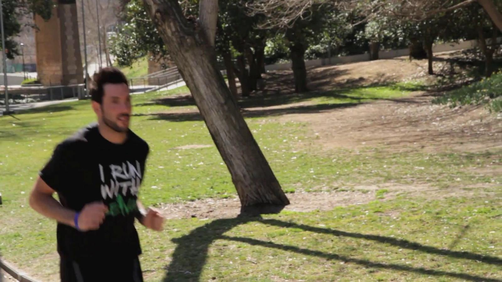 'I run with Leiva'