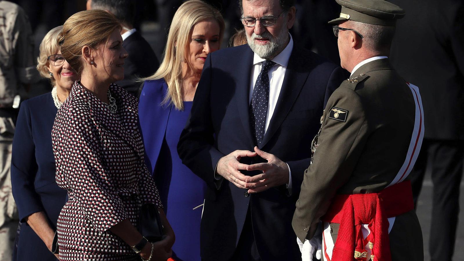 Avui fa un any Cospedal no descarta enviar L'exèrcit a Catalunya