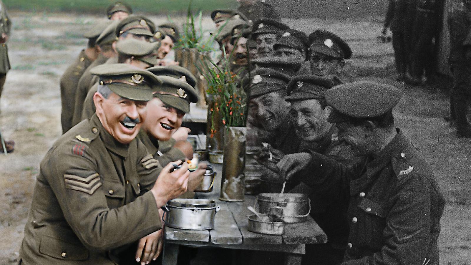 Peter Jackson pinta la  Primera Guerra Mundial