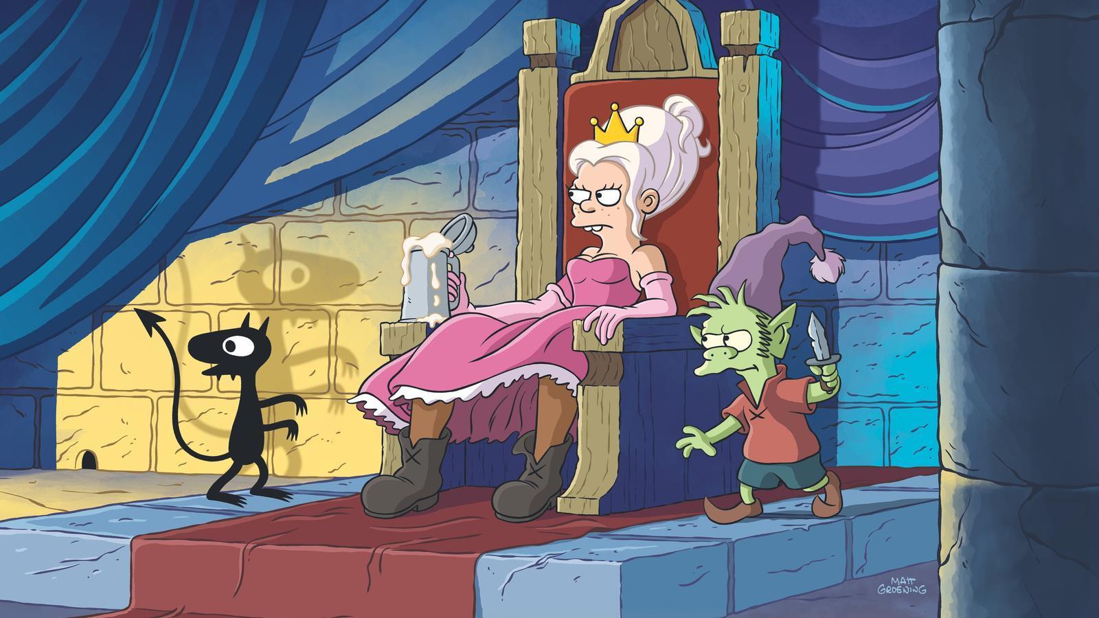 Matt Groening reinventa els contes de fades