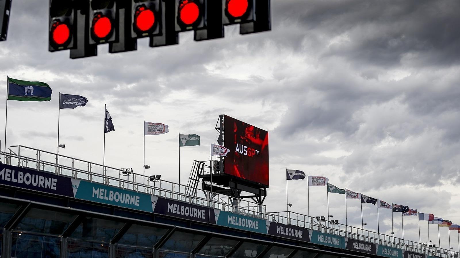 El GP d'Austràlia de F1, cancel·lat