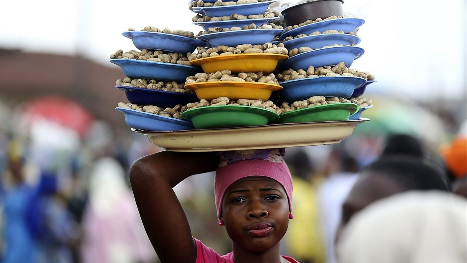 Un retrat de les dones de l'Àfrica i l'Àsia