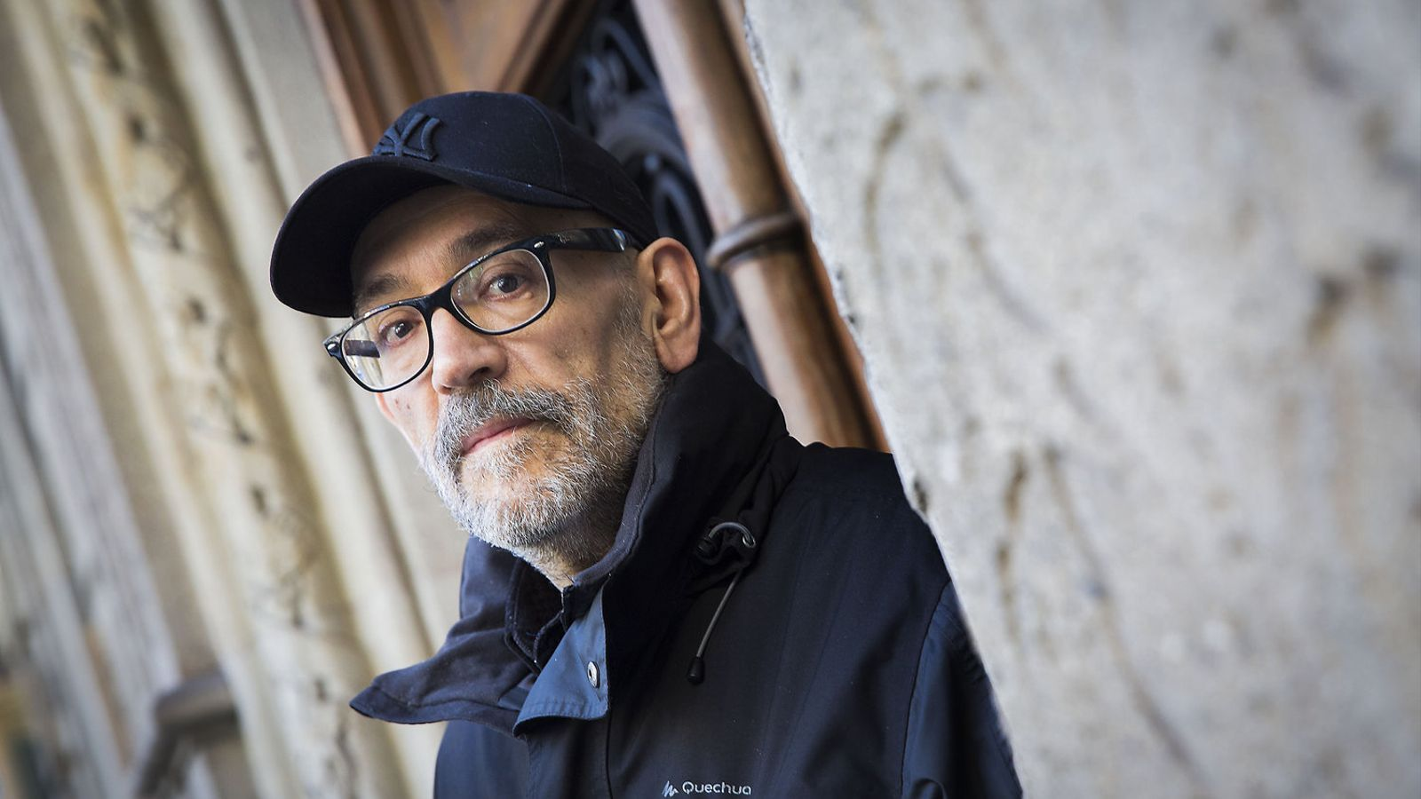 Marcos Ordóñez (Barcelona, 1957) al carrer Pau Claris aquesta setmana.