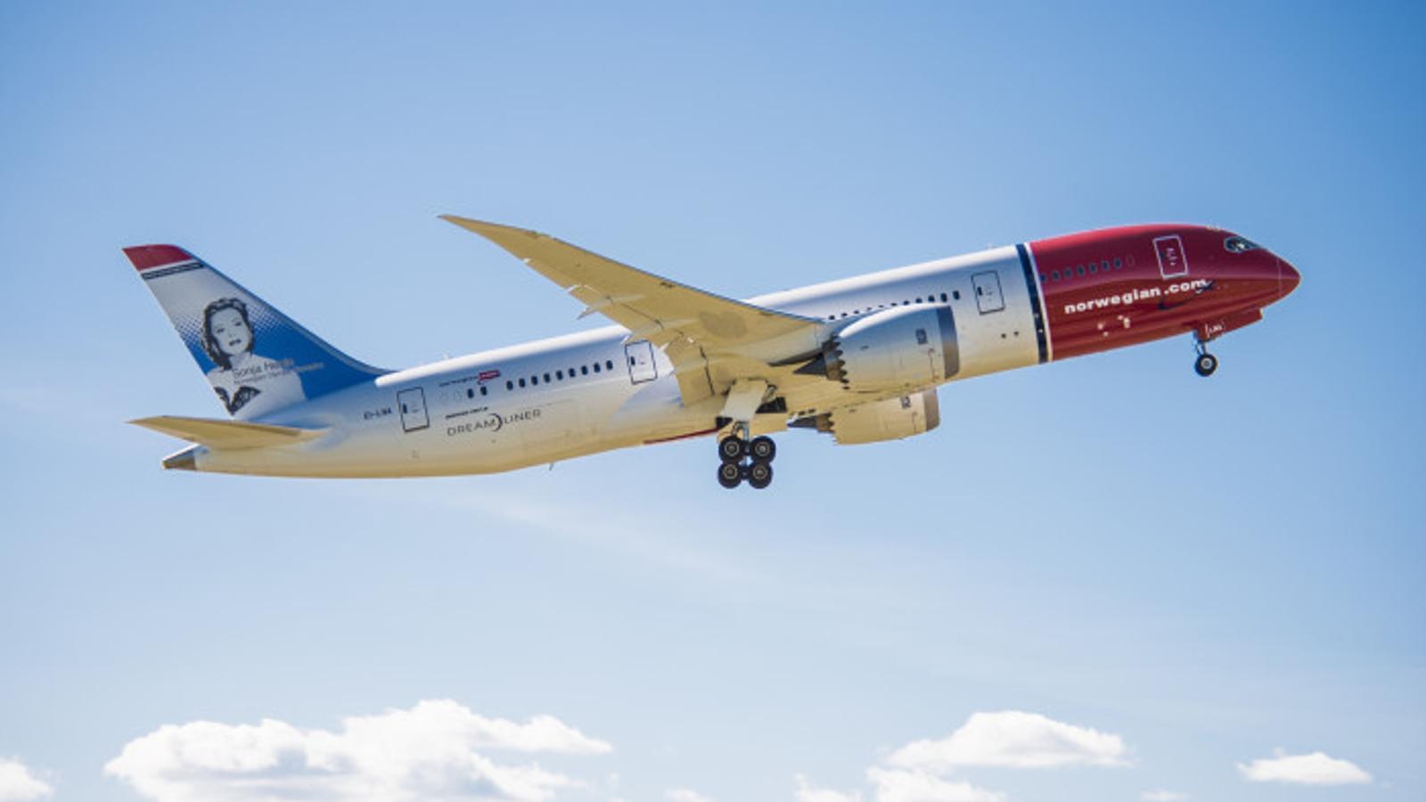 Un avió de Norwegian / NORWEGIAN