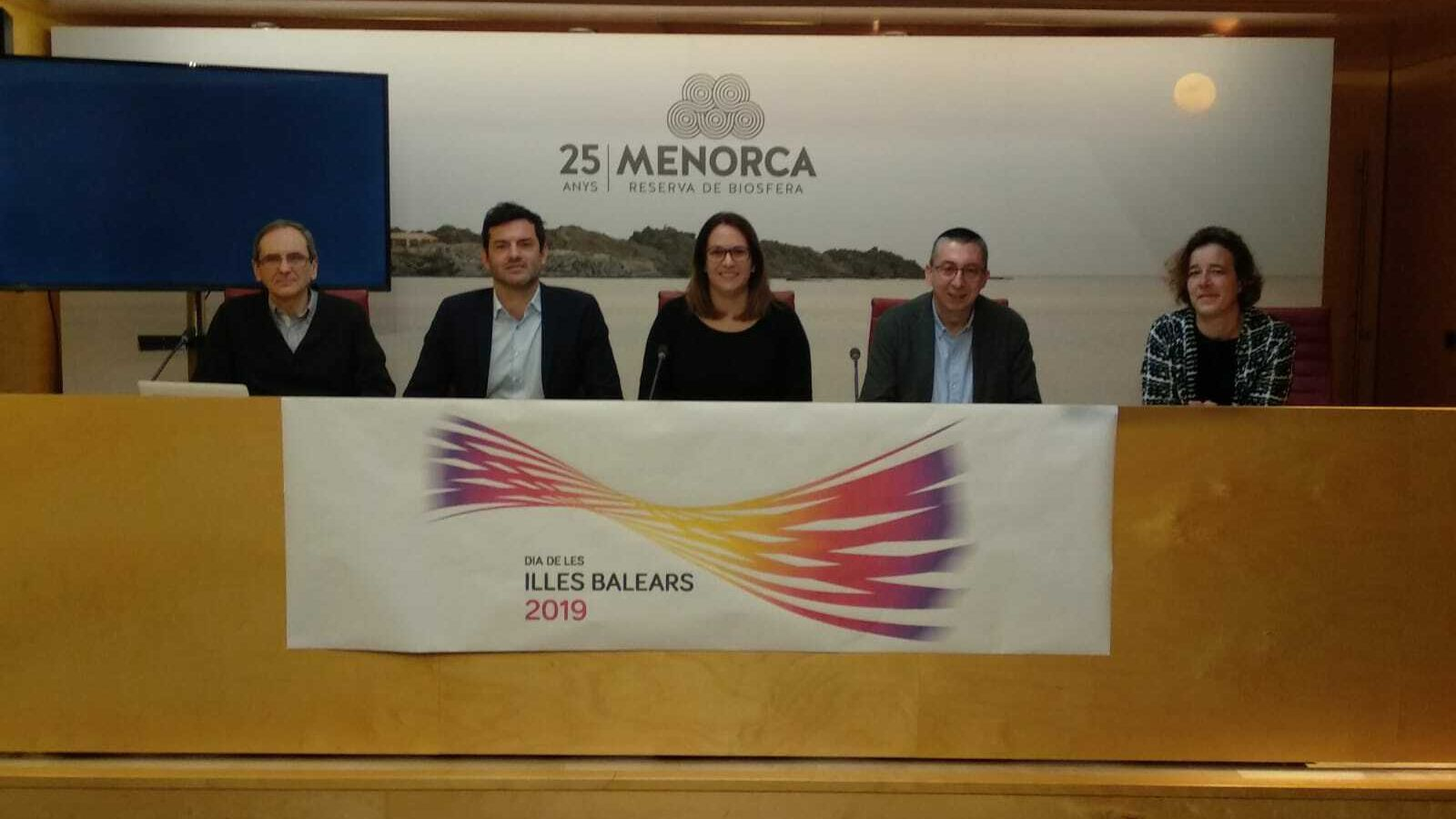 Responsables del Govern Balear i del Consell de Menorca han detallat les activitats pel pròxim 1 de març.
