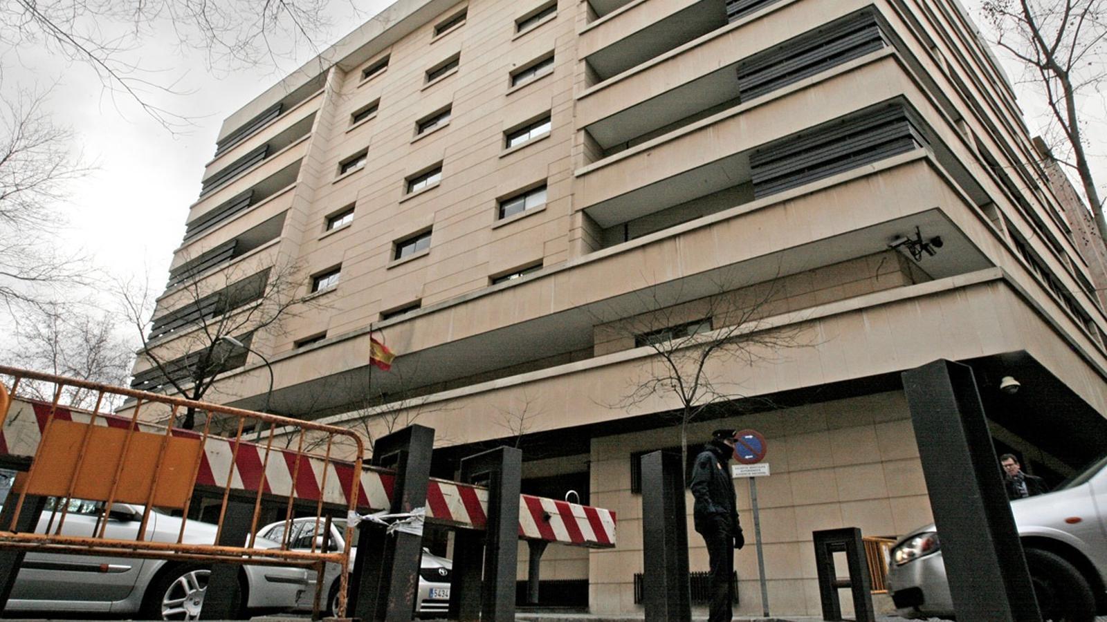 L'edifici de l'Audiència Nacional, en una imatge d'arxiu / EFE
