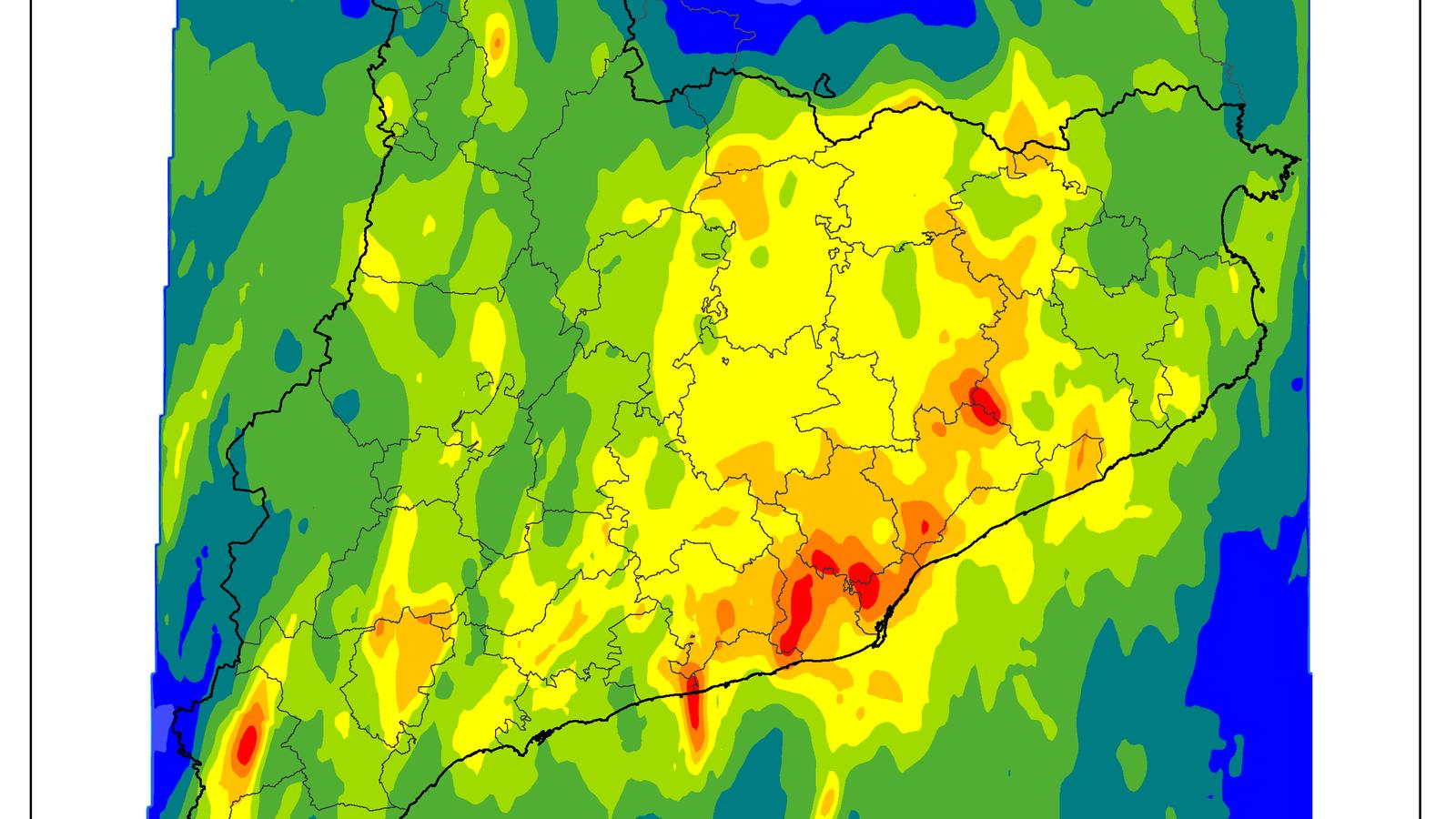 Barcelona no rebia tanta aigua en dos dies des del 2002