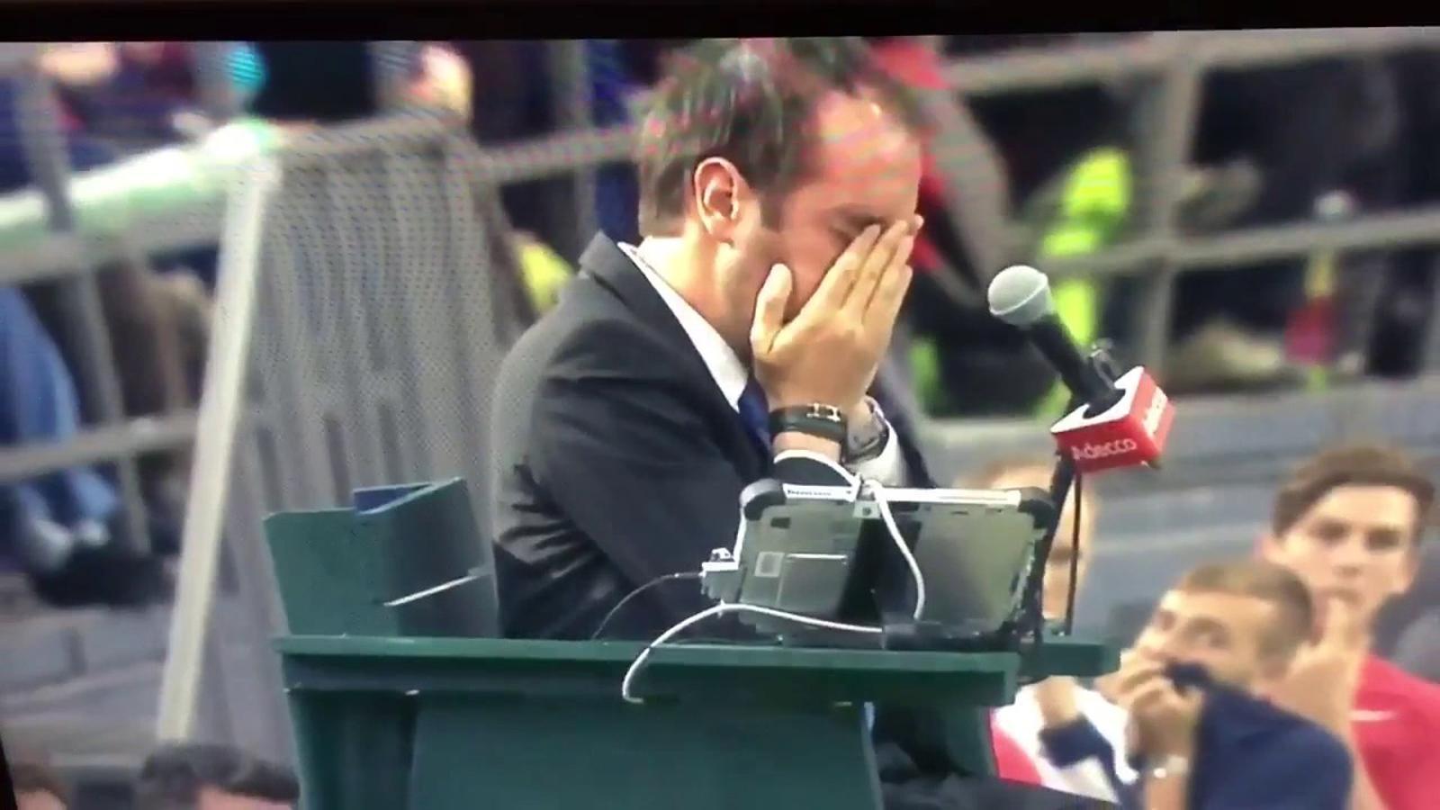 El Canadà, eliminat de la Copa Davis després que un jugador donés un fort cop de pilota a l'àrbitre