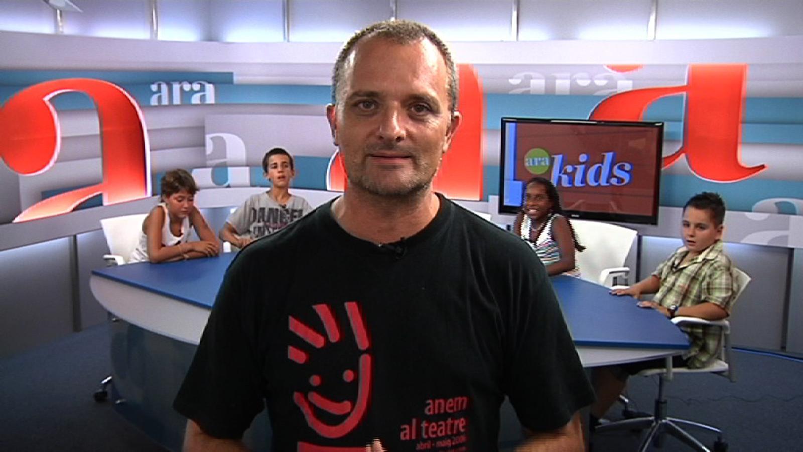 ARA Kids: Els nens periodistes de l'ARA s'estrenen entrevistant Toni Albà i 'el rei'