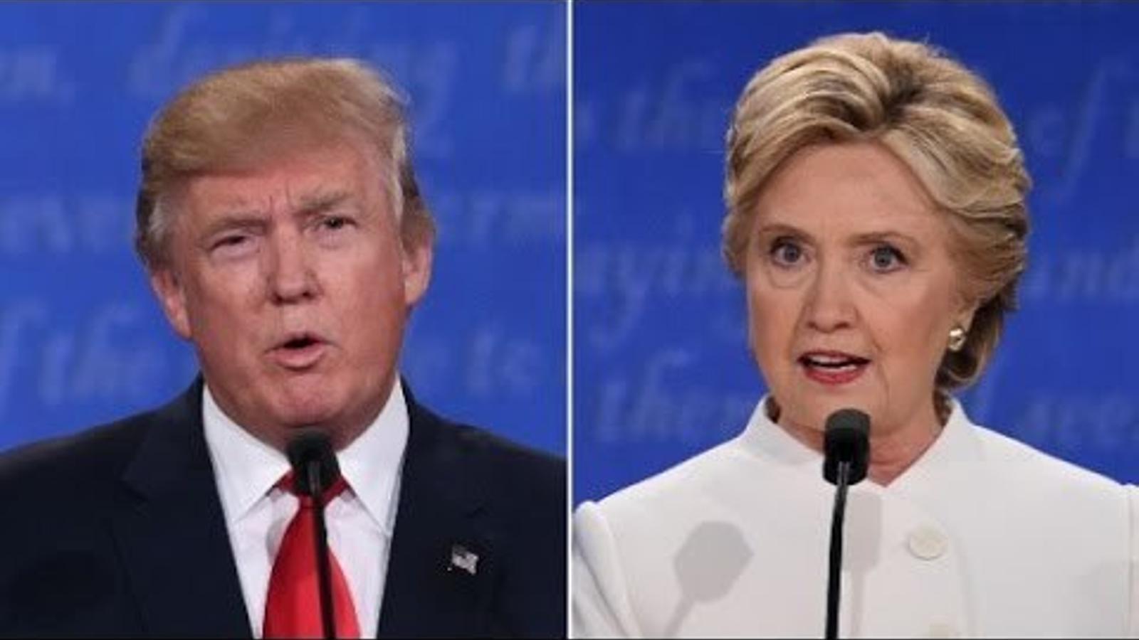"""Trump: """"decidiré si accepto el resultat quan sigui"""""""