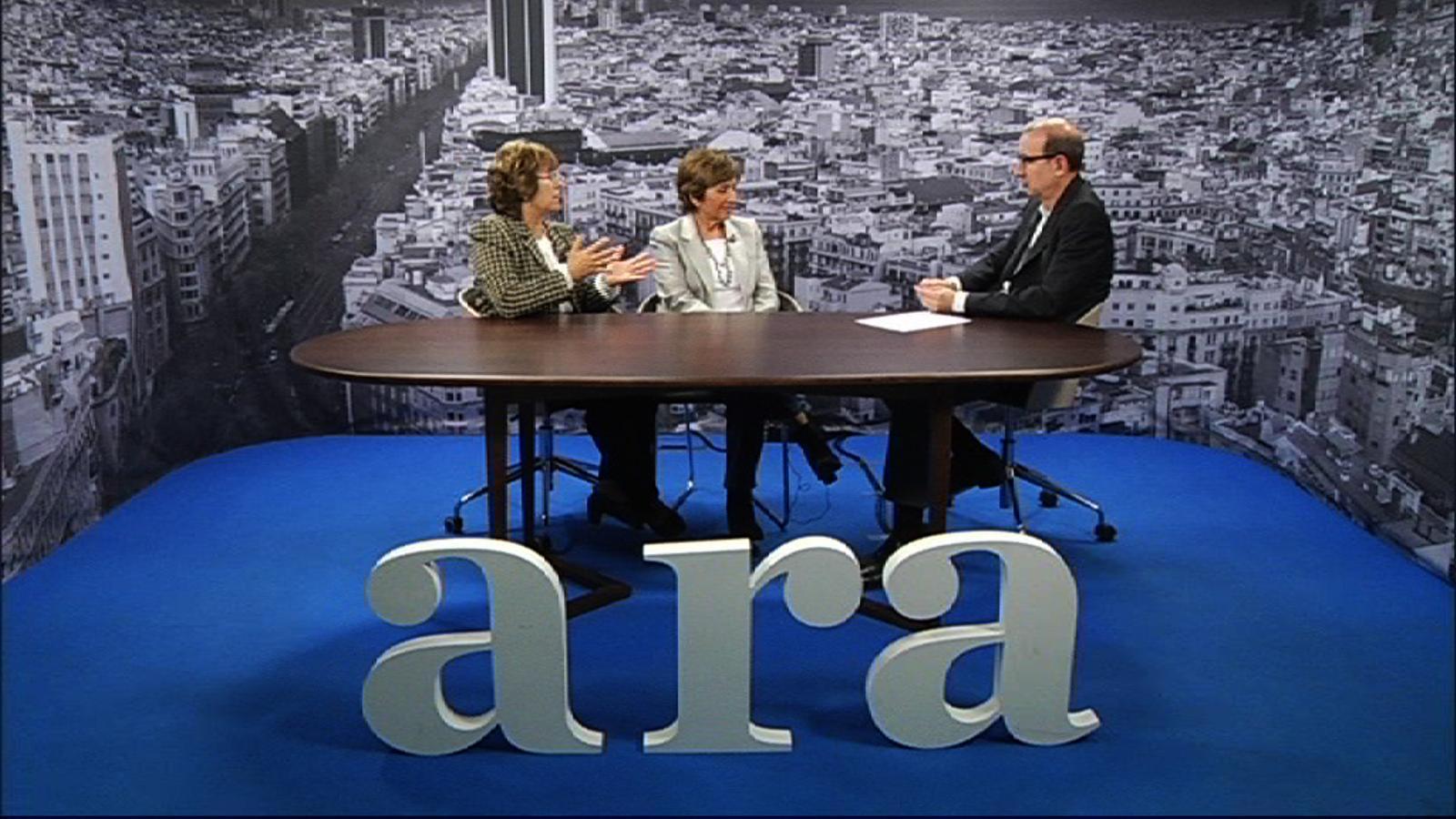 Entrevista d'Antoni Bassas a les germanes Amat, empresàries del sector immobiliari