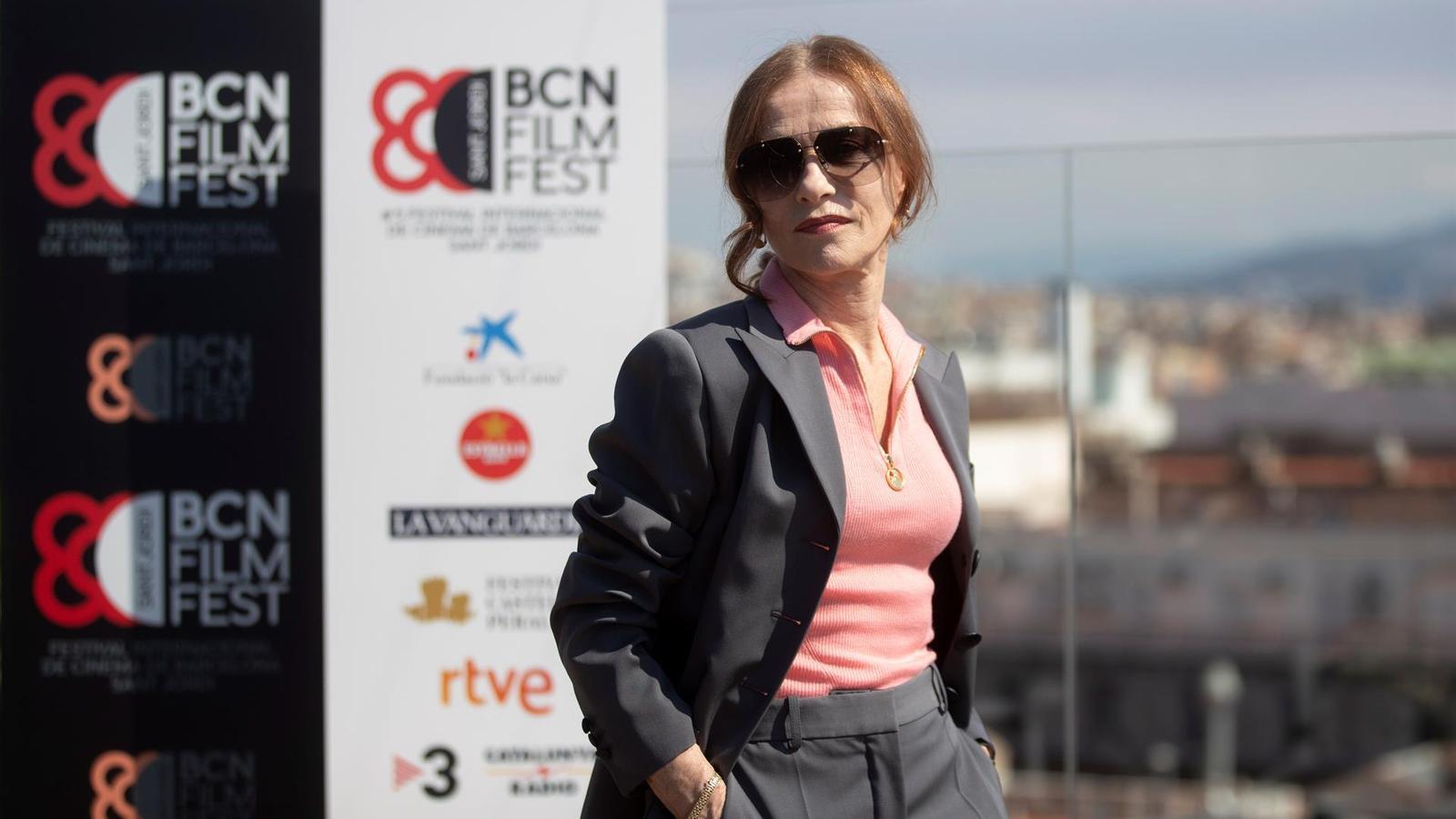 Isabelle Huppert, una diva cinèfila que no és 'trending topic' a Barcelona
