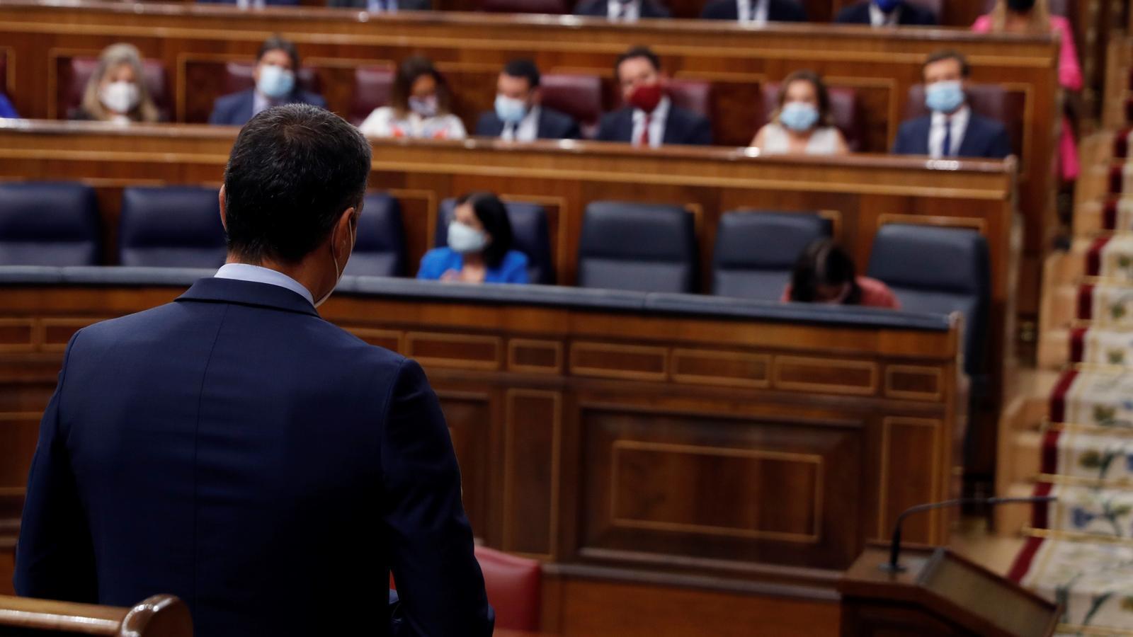 EN DIRECTE | Sessió de control al govern espanyol al Congrés