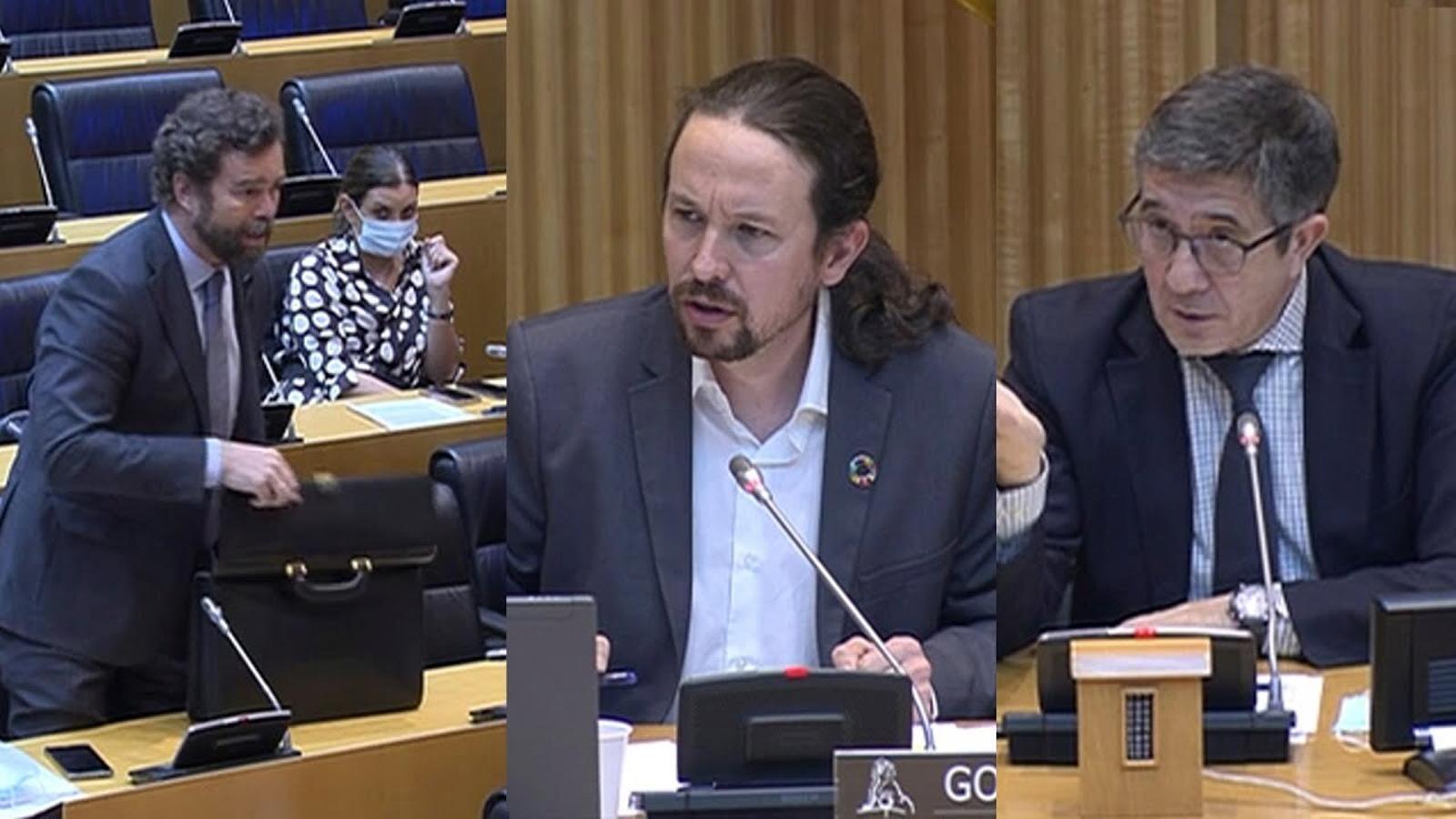 """Iglesias acusa Vox de """"voler fer un cop d'estat"""" però """"no atrevir-se"""""""