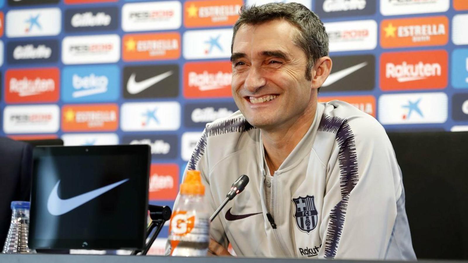 """Valverde: """"No ens agrada el marcador de l'anada, però està tot obert i estem preparats"""""""