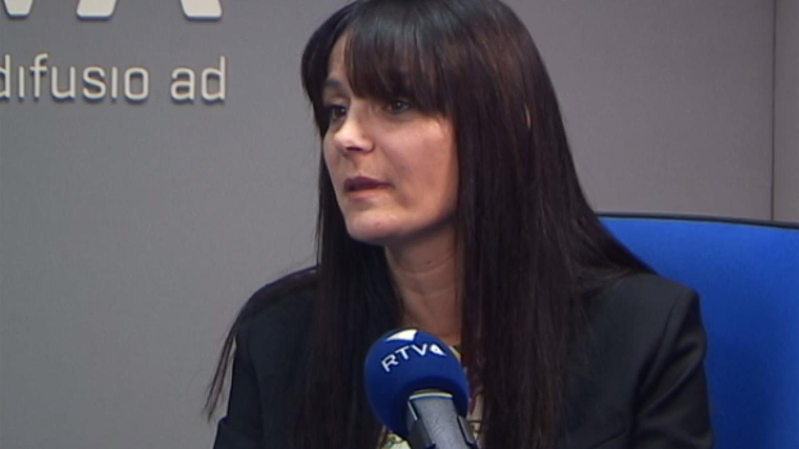 La subsíndica general, Mònica Bonell, durant l'entrevista al programa 'Ara i Aquí', aquest dimecres.