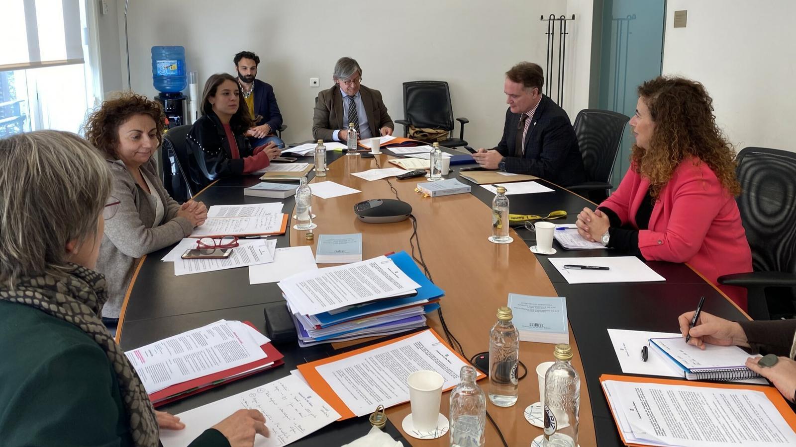 Reunió de la Mesa del Parlament d'aquest dimecres
