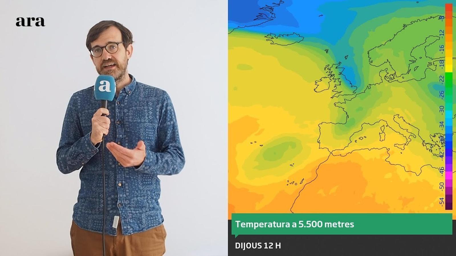 La méteo: setmana de xàfecs i pujades i baixades de temperatura