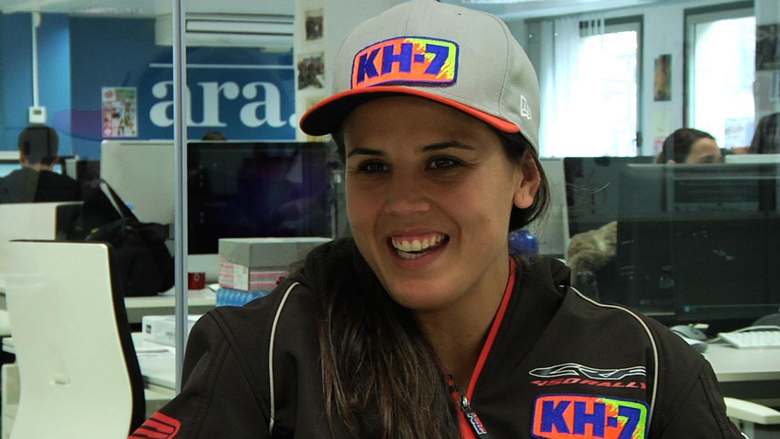 Laia Sanz: M'impacta que Honda, un equip japonès, i no una marca de casa, hagi apostat per mi