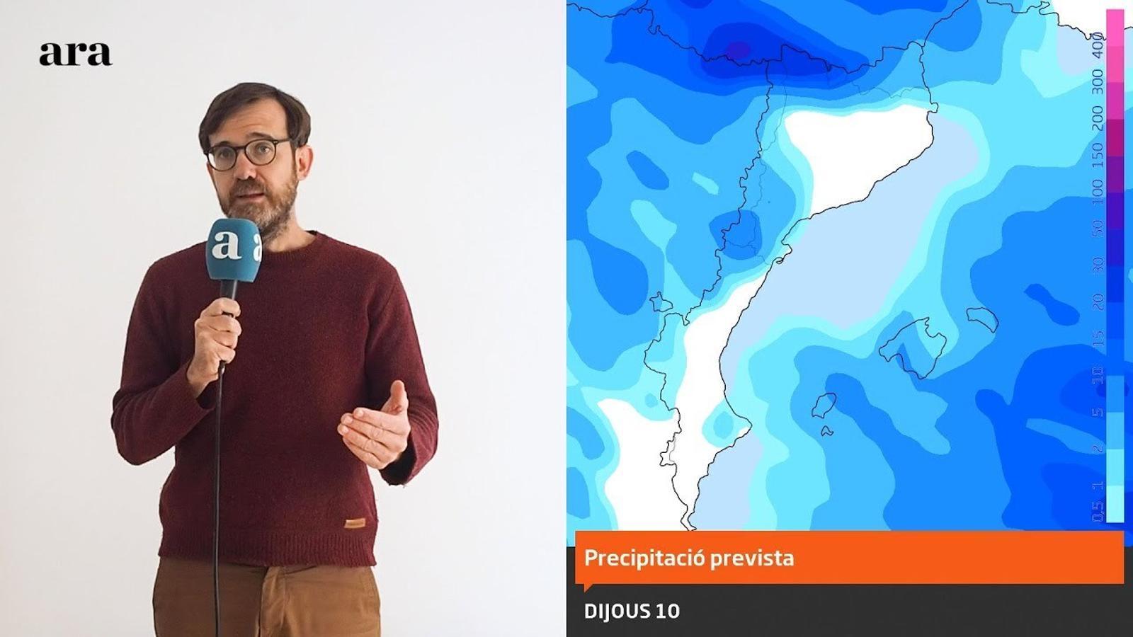 La méteo: ruixats puntuals, més neu i un vent que no s'acaba