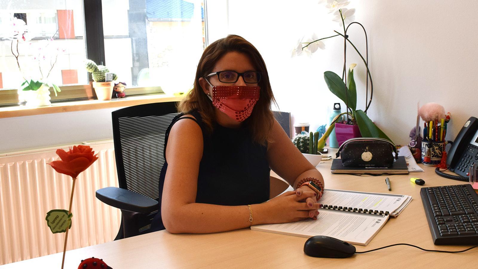 La cap de l'àrea de Polítiques d'Igualtat del ministeri d'Afers Socials, Habitatge i Joventut, Mireia Porras