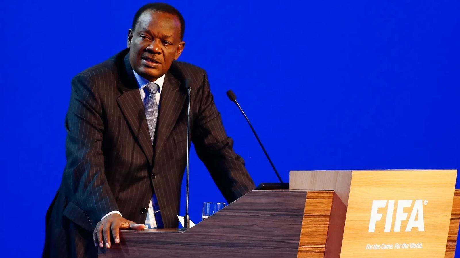 El president de la Federació de futbol d'Haití, Yves Jean-Bart
