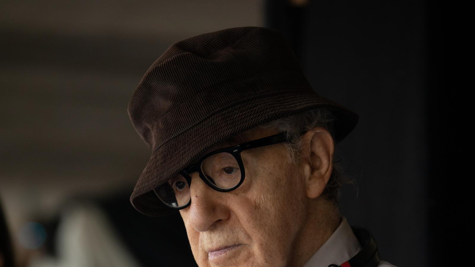 Woody Allen durant el rodatge de 'Rifkin's Festival'