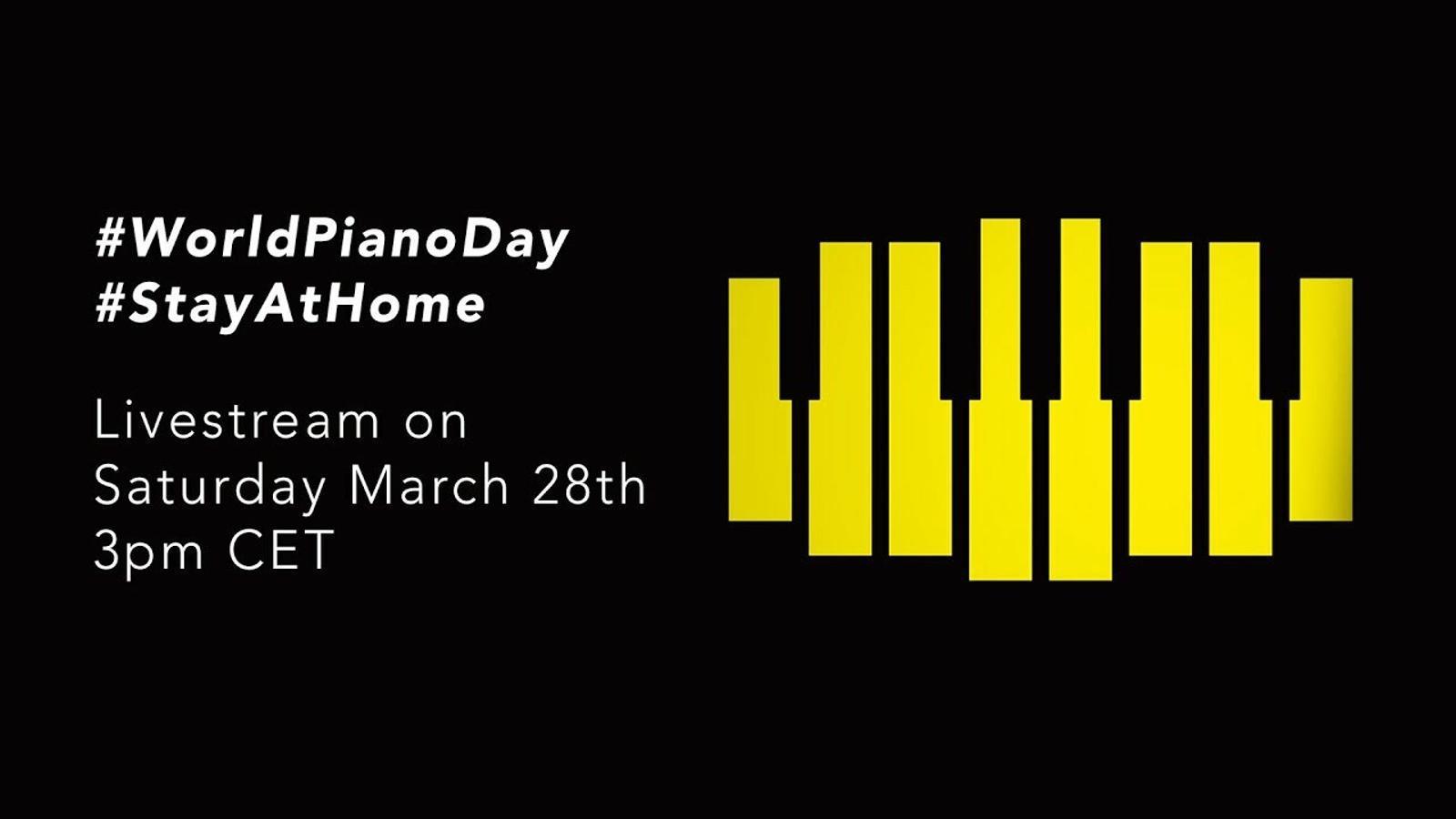 Concert del Dia Mundial del Piano, de Deutsche Grammophon