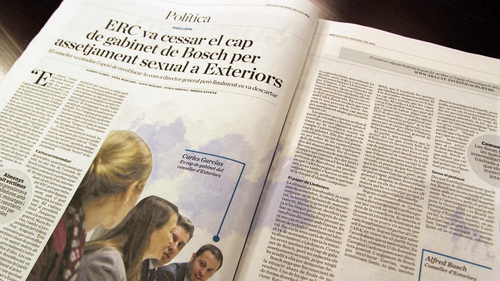 L'anàlisi d'Antoni Bassas: 'Masclisme, política i periodisme d'investigació'